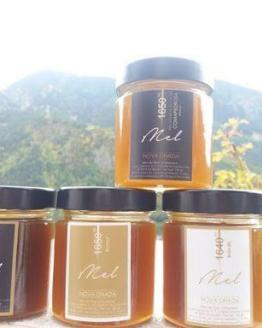 miel, miel rare, miel pressé, miel de montagne, miel pyrénées